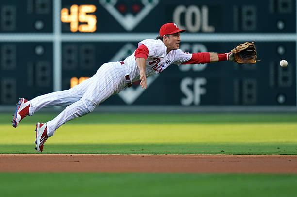 Chase Utley of the Philadelphia Phillies