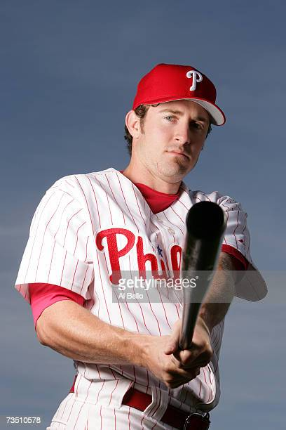 Chase Utley of the Philadelphia Phillies poses during Photo Day on February 24 2007 at Brighthouse Networks Field in Clearwater Florida