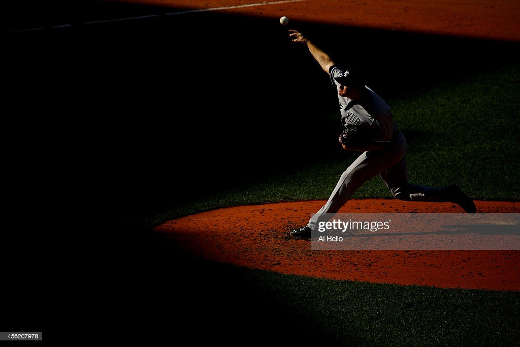 Chase Whitley #39 of the New York Yankees pitches against the Boston Red Sox during a game at Fenway Park on September 27, 2014 in Boston, Massachusetts.
