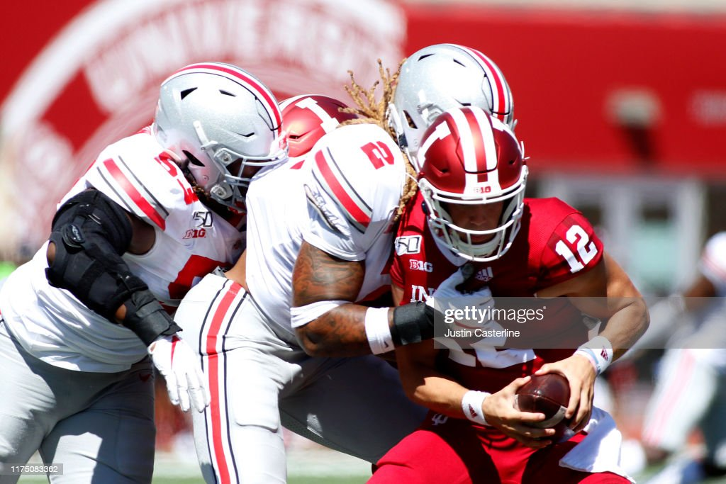Ohio State v Indiana : News Photo