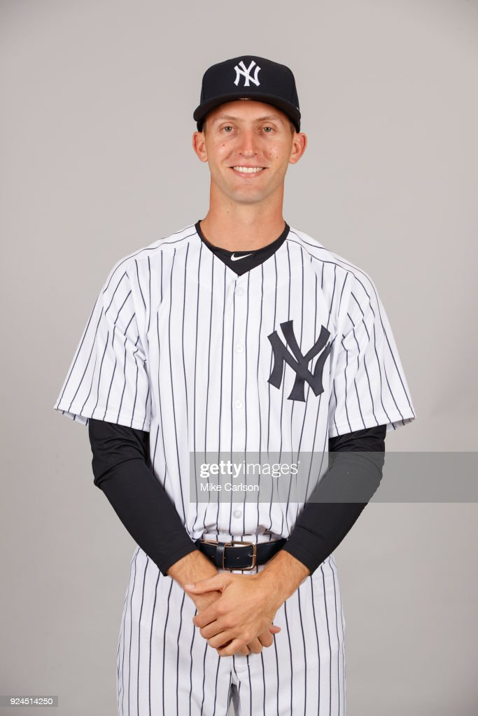 Chasen Shreve #45 of the New York Yankees poses during Photo Day on Wednesday, February 21, 2018 at George M. Steinbrenner Field in Tampa, Florida.