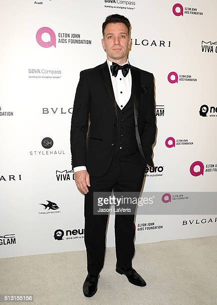 Chasez attends the 24th annual Elton John AIDS Foundation's Oscar viewing party on February 28, 2016 in West Hollywood, California.