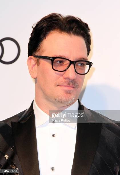 Chasez attends the 25th annual Elton John AIDS Foundation's Oscar Viewing Party at The City of West Hollywood Park on February 26 2017 in West...