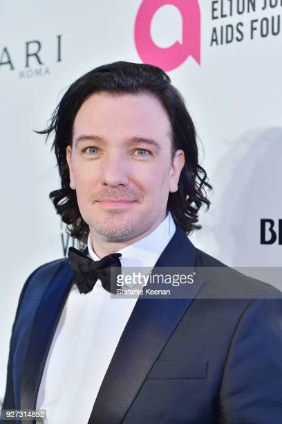 Chasez attends the 26th annual Elton John AIDS Foundation Academy Awards Viewing Party sponsored by Bulgari celebrating EJAF and the 90th Academy...