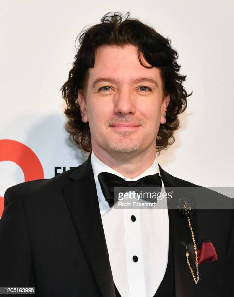 Chasez attends the 28th Annual Elton John AIDS Foundation Academy Awards Viewing Party Sponsored By IMDb And Neuro Drinks on February 09 2020 in West...