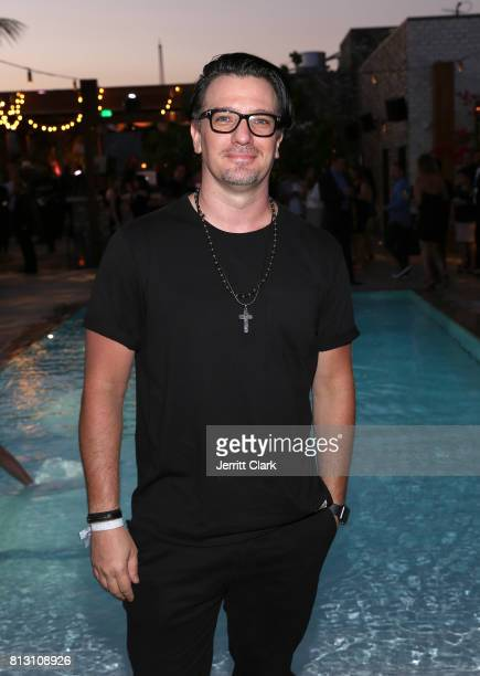 Chasez attends The Grand Opening Of The Highlight Room on July 11 2017 in Hollywood California