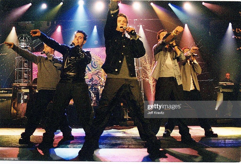 JC Chasez, Chris Kirkpatrick, Lance Bass, Joey Fatone and Justin Timberlake of N Sync