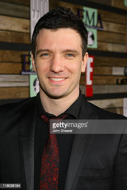 JC Chasez during E and EMA's 2007 Golden Globe After Party Red Carpet and Inside at Beverly Hilton in Beverly Hills California United States