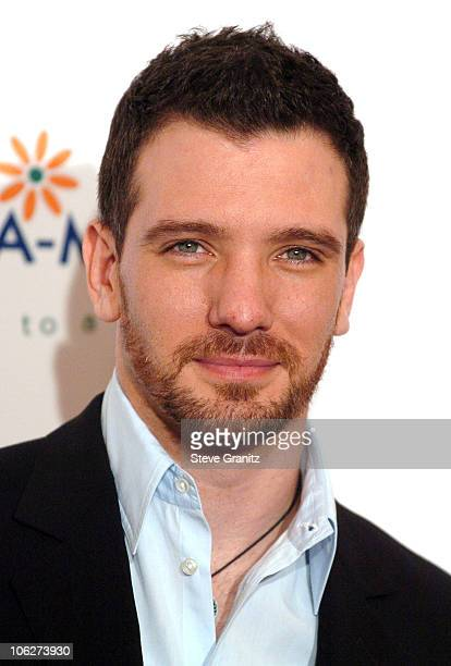 JC Chasez during Fifth Annual AdoptAMinefield Gala at Beverly Hilton Hotel in Beverly Hills California United States
