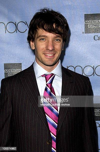 JC Chasez during Macy's and American Express Passport Gala Day 2 Show at Barker Hangar in Santa Monica California United States