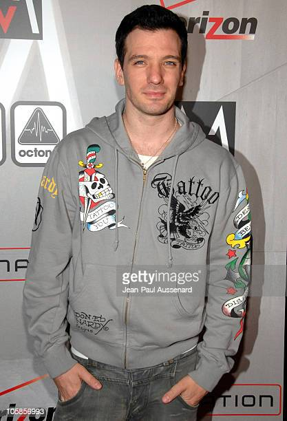 Chasez during Maroon 5 Album Release Party - Arrivals at The Lot in West Hollywood, California, United States.