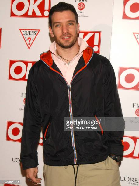 JC Chasez during Ok Magazine US Debut Launch Party Arrivals at LAX in Hollywood California United States