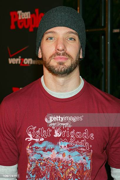 JC Chasez during Teen People's 4th Annual Artists of the Year Event Honoring Shakira sponsored by Verizon Red Carpet at Element in Los Angeles...