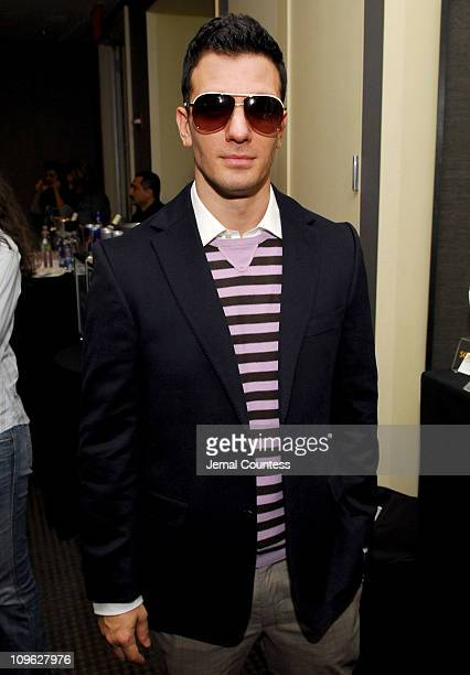 9ed9c1fd784 JC Chasez in Gucci 1827 s sunglasses during Solstice Sunglass Boutique and Safilo  USA at