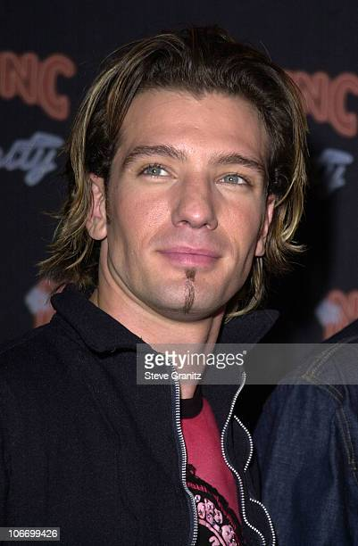 JC Chasez of NSYNC during N'SYNC And Jive Records Host A Record Release Party For Their New Album Celebrity at Moomba in West Hollywood California...