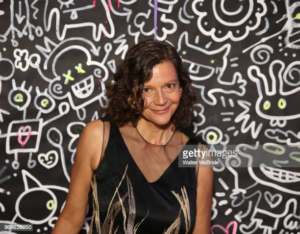 Chashama Founder Anita Durst during The Chashama Gala at 4 Times Square on June 7 2018 in New York City