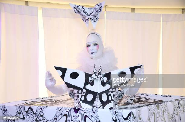 Chashama performance Artist during The Chashama Gala at 4 Times Square on June 7 2018 in New York City