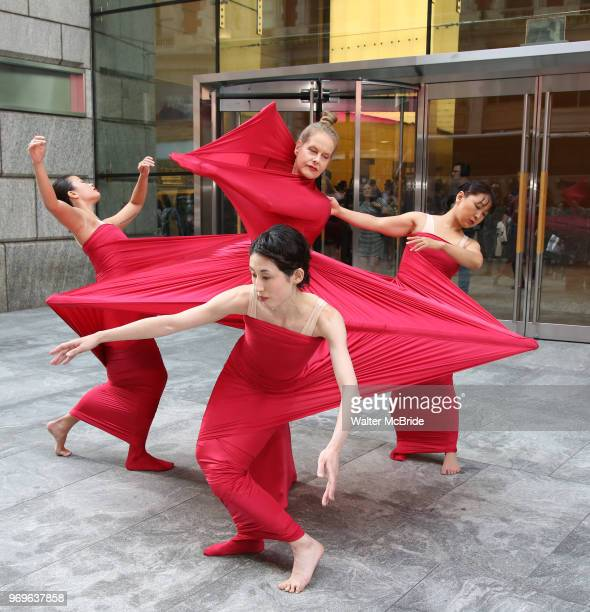 Chashama performance Artists during The Chashama Gala at 4 Times Square on June 7 2018 in New York City