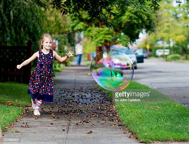 Chasing a huge bubble