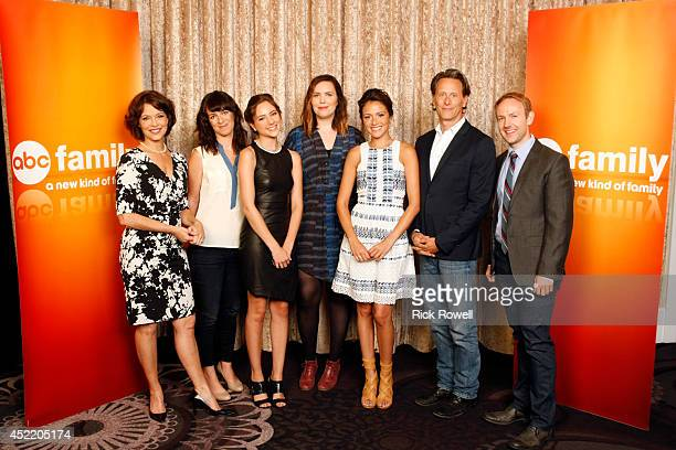 TOUR 2014 Chasing Life The cast and producers of Walt Disney Television via Getty Images Family's Chasing Life at Disney | Walt Disney Television via...