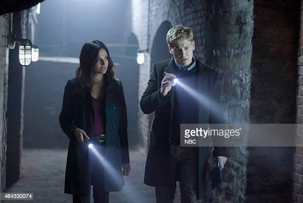 "Chasing Over"" Episode 104 -- Pictured: Floriana Lima as Michelle Prado, Gavin Stenhouse as Alex O?Connor --"
