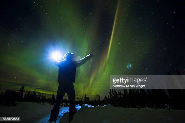 Chasing the Northern Lights in Sweden