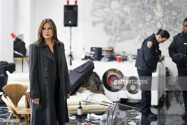 UNIT 'Chasing Theo' Episode 1813 Pictured Mariska Hargitay as Lieutenant Olivia Benson