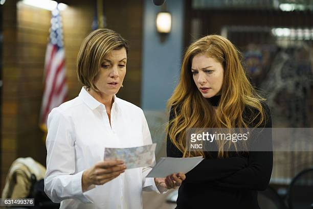 UNIT 'Chasing Theo' Episode 1813 Pictured Zoe McLellan as Dr Fran Conway Rachelle Lefevre as Nadine Le Doux