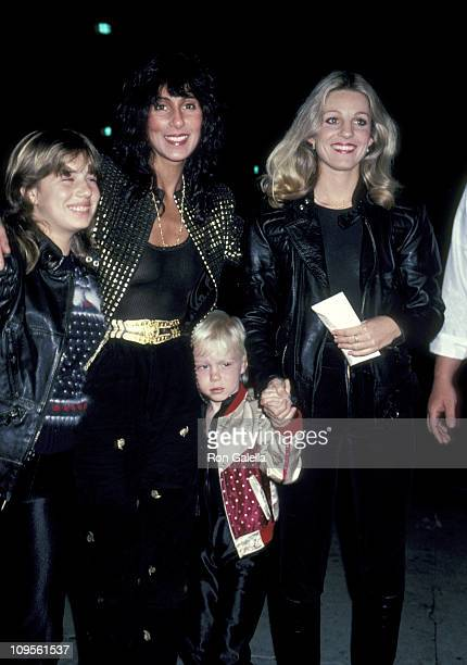 Chasity Bono Cher Elijah Blue Allman and Georganne LaPiere