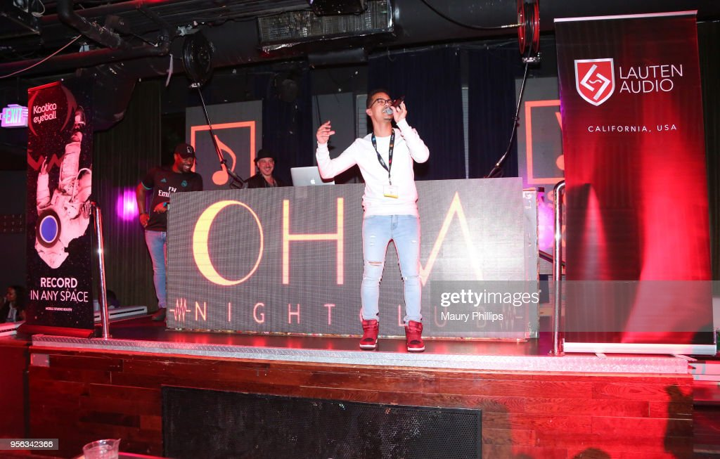 Chason performs during the 'istandard Producer And Rapper Showcase' at The 2018 ASCAP 'I Create Music' EXPO at Loews Hollywood Hotel on May 8, 2018 in Hollywood, California.