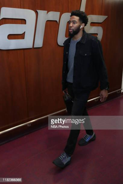 Chasson Randle of the Washington Wizards arrives to the arena prior to the game against the Miami Heat on March 23 2019 at Capital One Arena in...