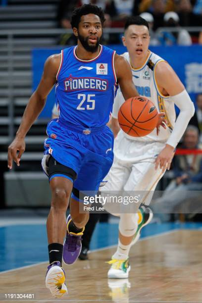 Chasson Randle of Tianjin Pioneers in action during 2019/2020 CBA League - Beijing Ducks v Tianjin Pioneers at Beijing Wukesong Sport Arena on...