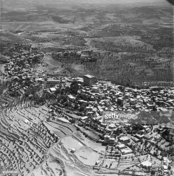 Chastel Blanc or Burj Safita Syria c1950s Built in the 12th century by the Knights Templar as one of a string of Crusader fortifications in the area...