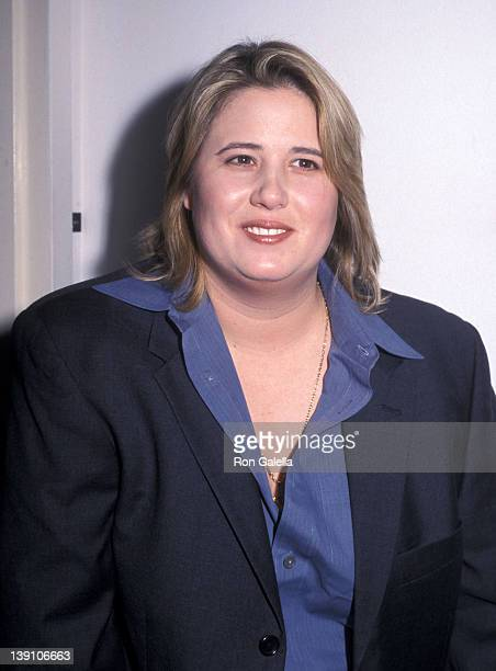 Chastity Bono attends the 1999 Emery Awards the HenrickMartin Institute's 20th Anniversary Celebration on November 29 1999 at The Altman Building in...