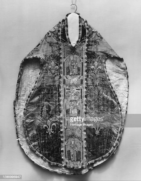 Chasuble, British, late 15th century. Artist Unknown.