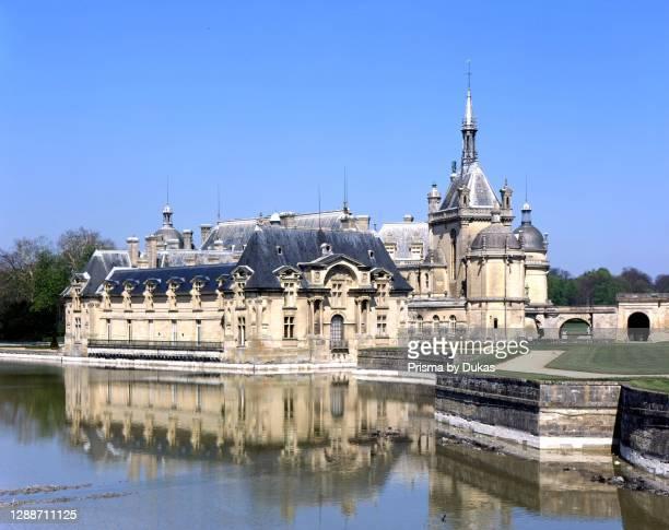 Chateau, Chantilly, Oise, France.