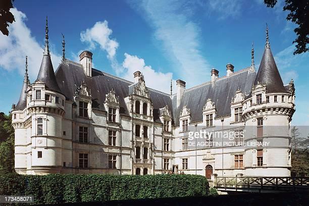 Chateau d'AzayleRideau Azay le Rideau Loire Valley France