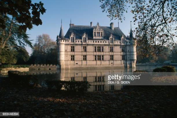 Chateau de AzayleRideau 15101528 Loire Valley CentreVal de Loire France 16th century