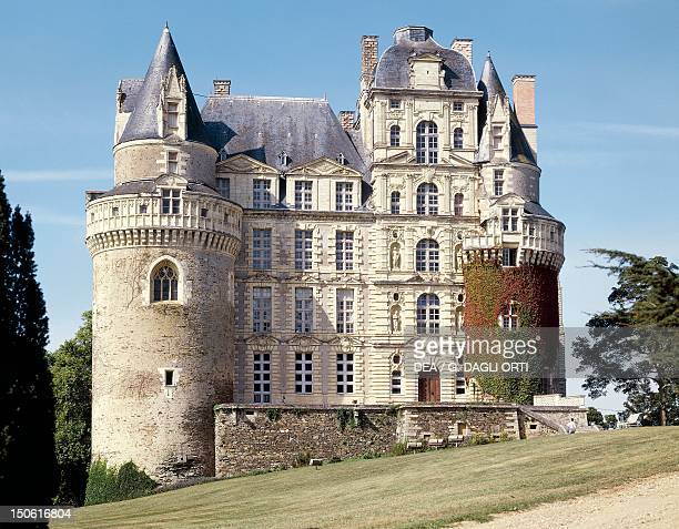 Chateau de Brissac Louis XIII style Loire Valley France 17th century