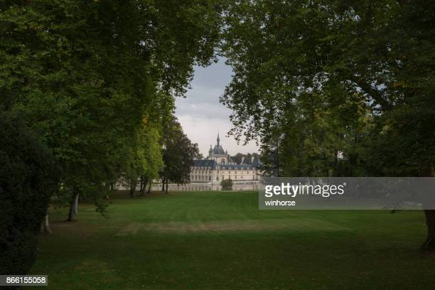 chateau de chantilly in france - oise stock pictures, royalty-free photos & images