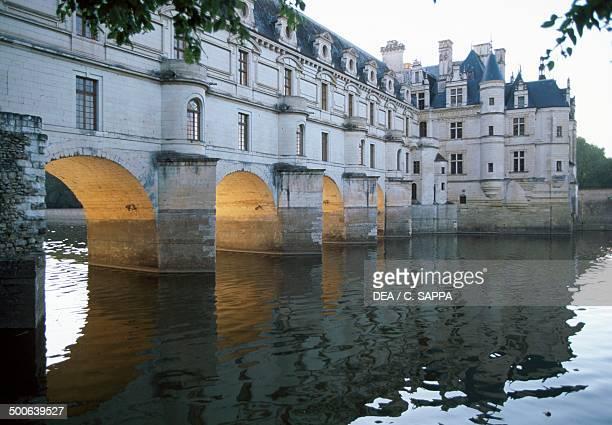 Chateau de Chenonceau 16th century on the River Cher Loire Valley Centre France