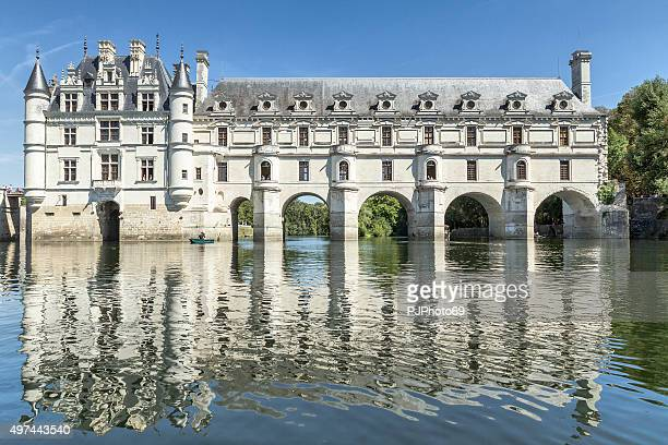 Chateau de Chenonceau from the river