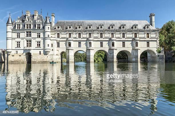 Château de Chenonceau vom Fluss