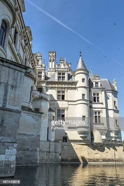 castelo de chenonceaux do rio - pjphoto69 - fotografias e filmes do acervo