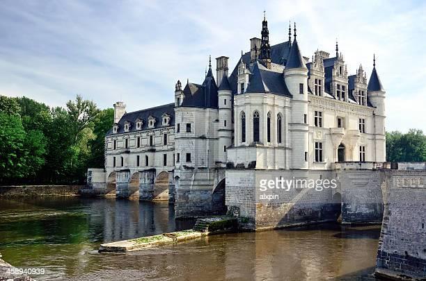 château de chenonceaux - château photos et images de collection