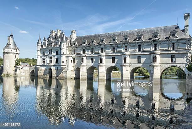 castillo de chenonceaux - pjphoto69 fotografías e imágenes de stock