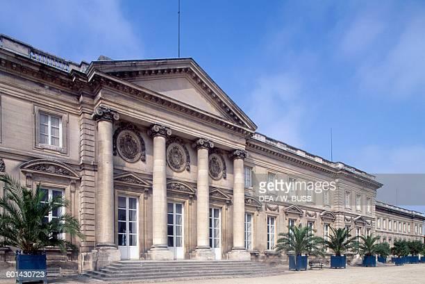 Chateau de Compiegne rear facade, 1751-1789, Picardy. France, 18th century.