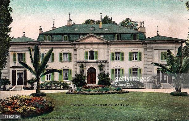 Chateau de Ferney home and birthplace of VOLTAIRE FrancoisMarie Arouet French writer philosopher playwright poet 16941778