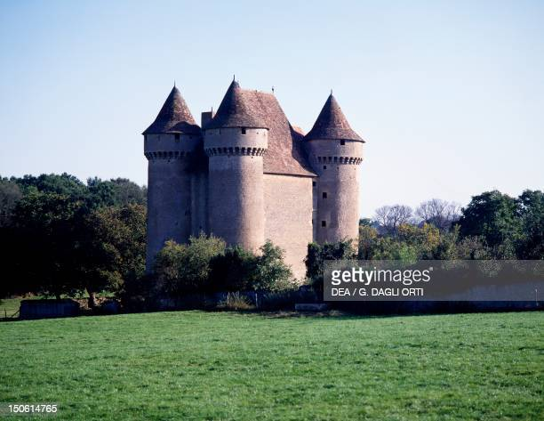 Chateau de Sarzay stonghold of the Lords of Barbancois France 13th century