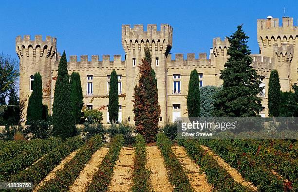Chateau des Fines Roches, Rhone Region.